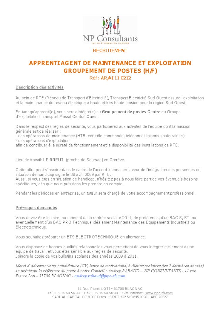 Blog Offres De Formations Lp Lycee Des Metiers Du Bois