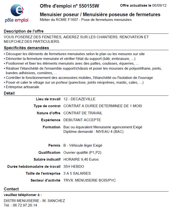 blog - offres d u0026 39 emploi